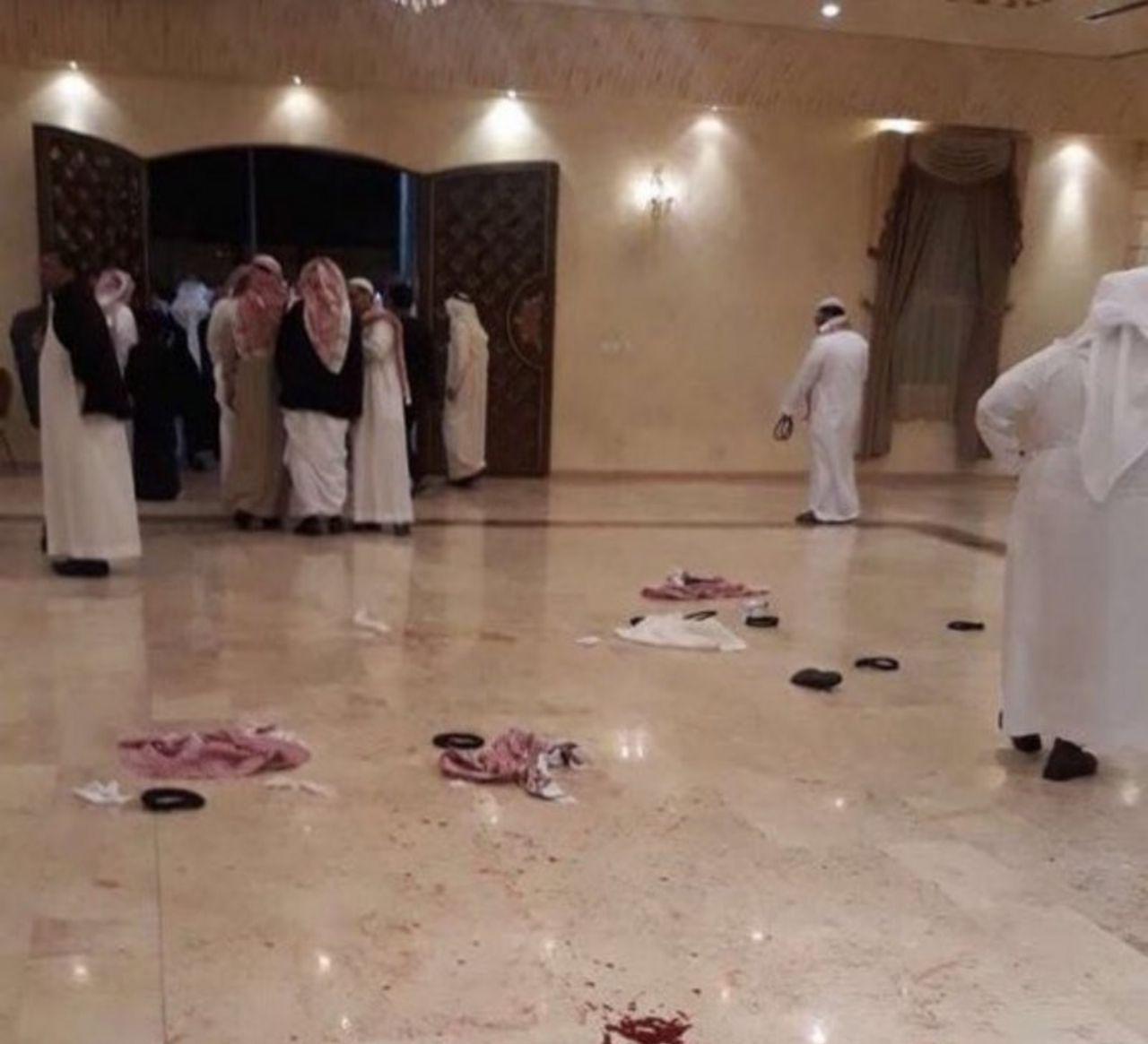 #عاجل مقابلة مع والد العريس المطعون بحفل زواجه بخميس مشيط