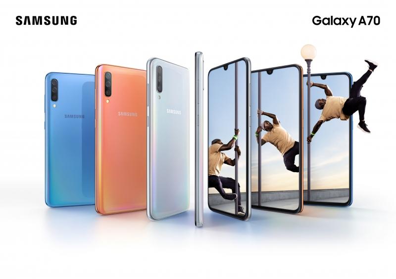 سامسونج تكشف عن أحدث ابتكاراتها Galaxy A70